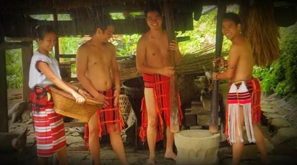 Darwin Miranda in Batad Ifugao