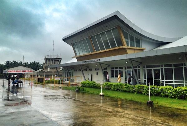 Sayak Domestic Airport in Siargao