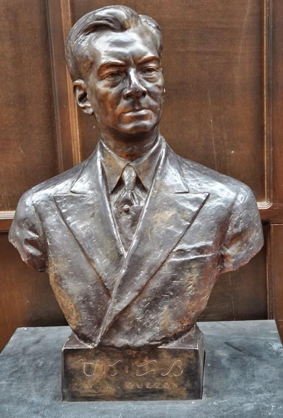 Bronze Replica of President Manuel Quezon