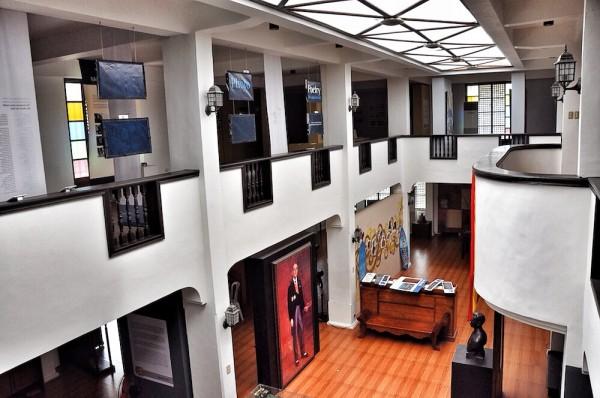 Inside Museo de Baler