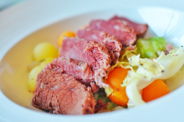 Mesclun Signature Dish - House Cured Corned Beef