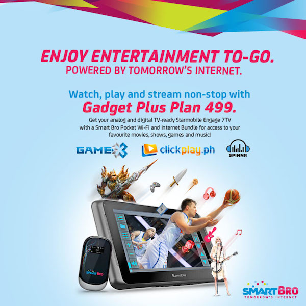 Smart Bro's Gadget Plus Plan 499