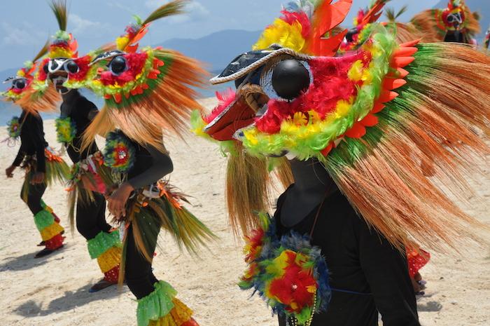6 Biniray Ati-Atihan Festival Dancers