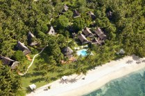 Aerial View of Dedon Island