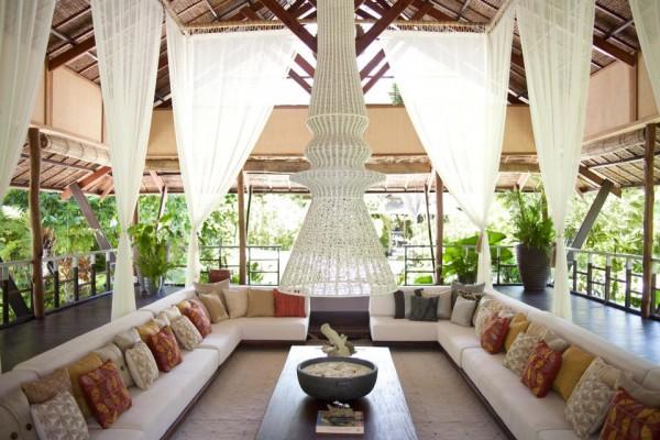 Dedon Island reception lounge