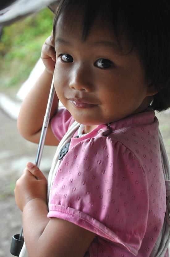 An Ifugao Kid in Batad