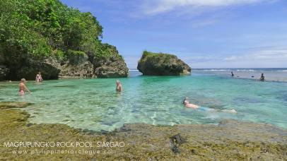 Magpupungko Beach and Tidal Pools