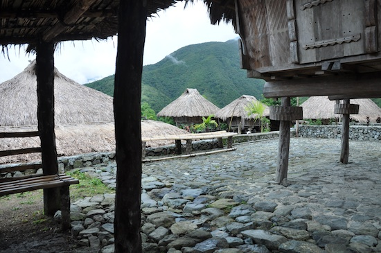 Native Huts in Hungduan