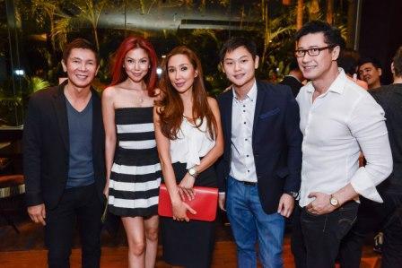 Richard Tiu, Bianca Valerio, Carla Sibal, Mike Chua & Chris Badiola