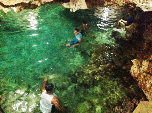Underwater Pool in Bolinao Pangasinan