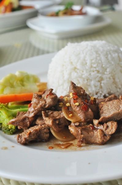 Beef Tenderloin Salpicao