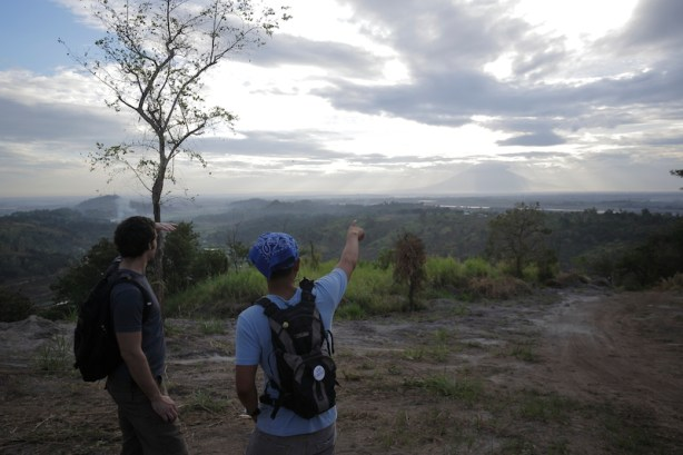 Early Morning Trek to watch the sunrise
