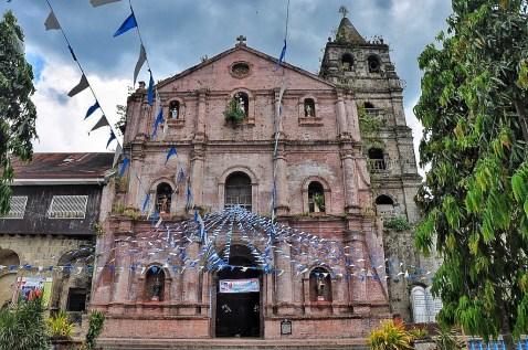 Facade of Parish Church of San Gregorio Magno