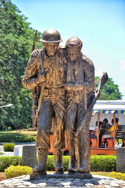 Filipino & American Soldiers Monument