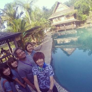 Group shot at Kamayan sa Palaisdaan Pool