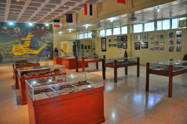Inside the Pacific Memorial War Museum