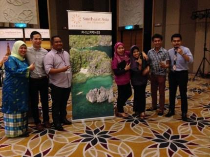 Malaysia Asean East Coast Trail 2014 Philippine Delegates