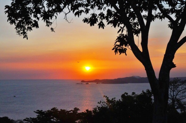 Sunset in Corregidor