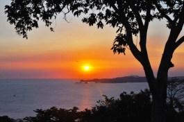 Sunset in Corregidor