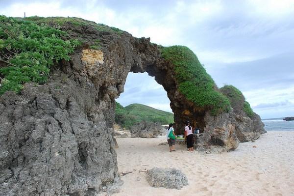 Ahau Ark at Nakabuang Beach in Sabtang Island