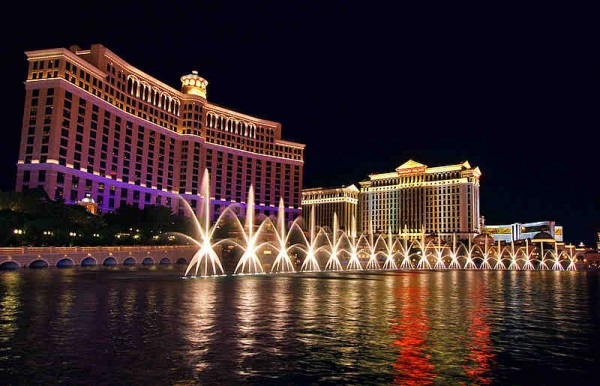 Bellagio Casino in Las Vegas - photo by Wikipedia
