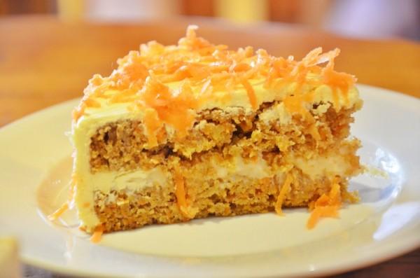 Carrot Cake for dessert