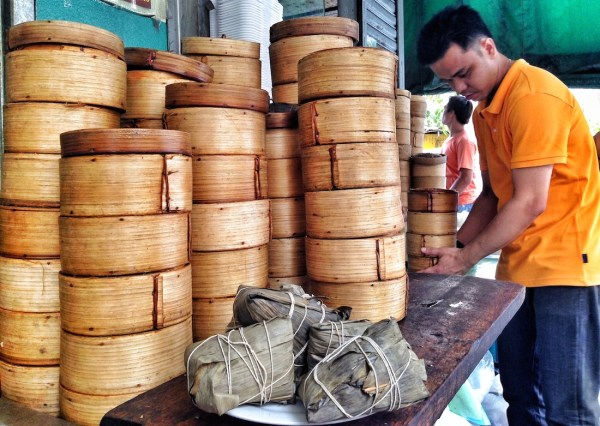 Choose your Dumplings at Ying Ying Tea House in Manila Chinatown