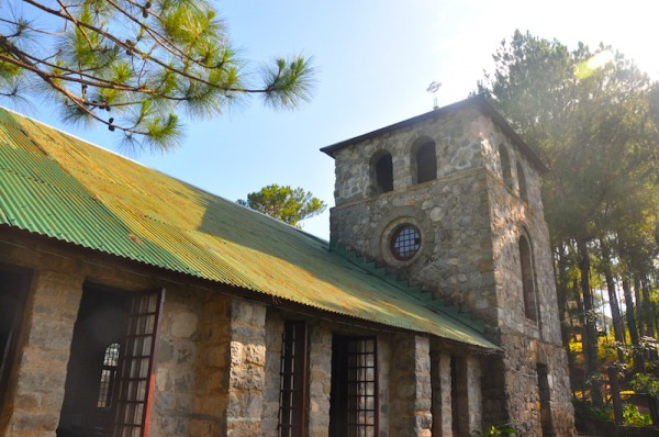 Church in Besao - Besao Travel Guide