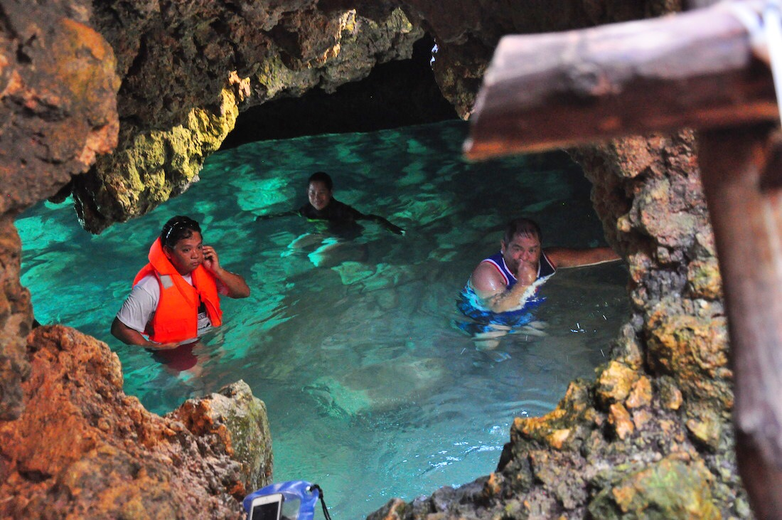 The Underwater Cave In Puerto Galera Out Of Town Blog