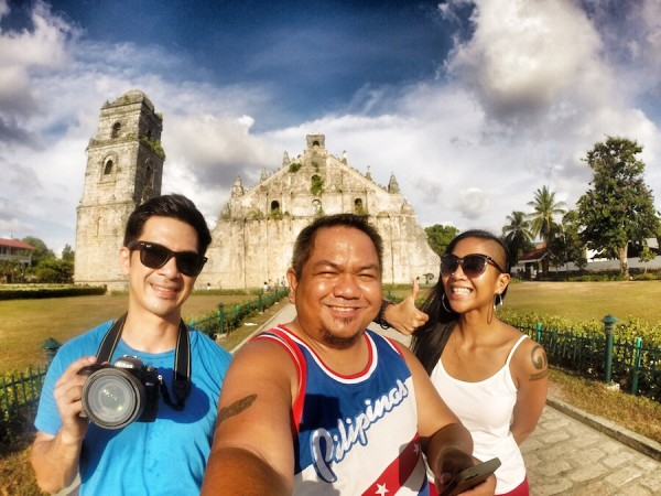 Group Selfie in Paoay Church