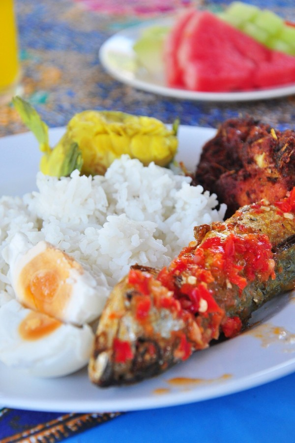Lunch at Petang Island Resort