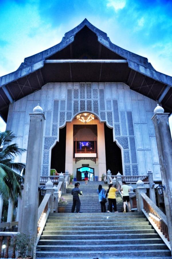 Main entrance of Terengganu State Museum