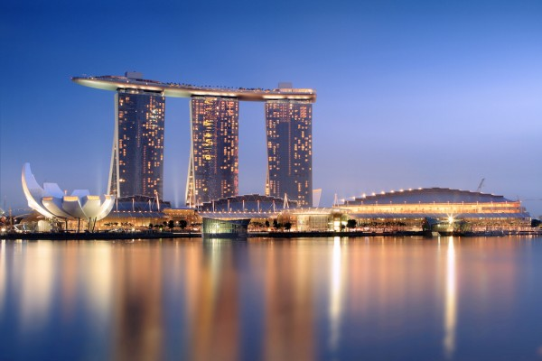 Marina Bay Sands in Singapore - photo by Wikimedia