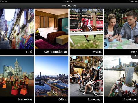 Melbourne Tour Guide Apps