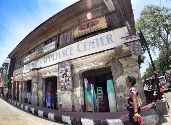 Quezon Street in Vigan City