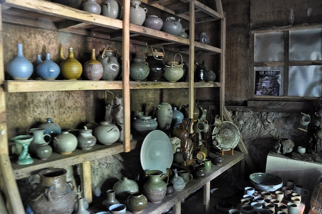 Sagada Pottery finished products