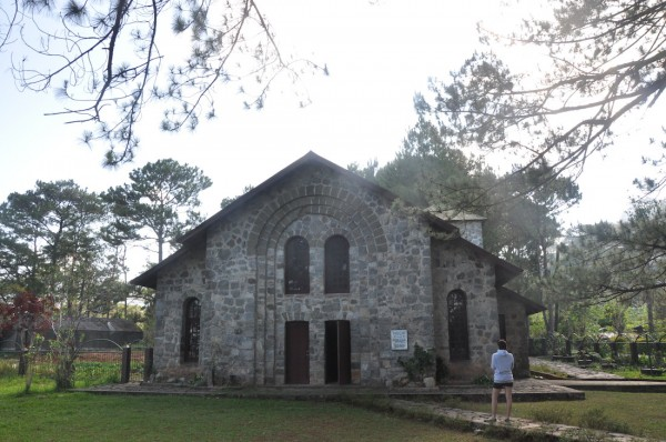 St Benedicts Parish Church in Besao