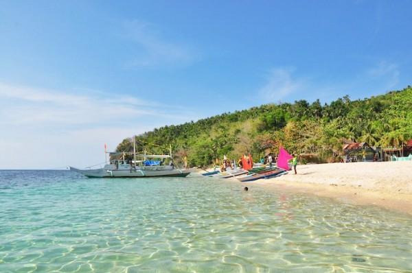 White Sand Beach at Cobrador Island