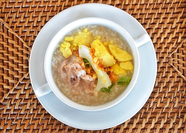 Arroz Caldo for Breakfast