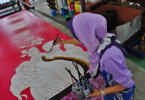 Batik Making at Noor Arfa Craft Complex