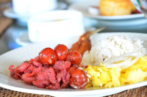 Boholano Breakfast at Astoria de Bohol