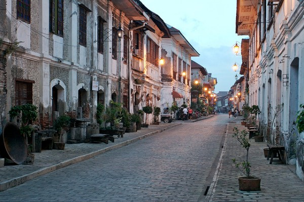 Crisologo St in Vigan City by Jonathan S. Igharas