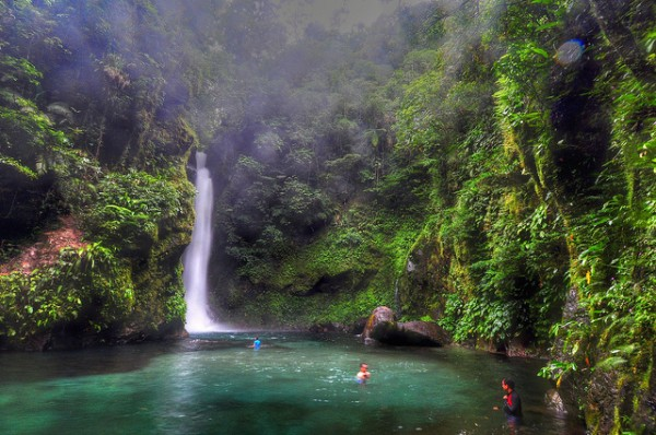 Ditumabo Falls in Baler photo by Chad M