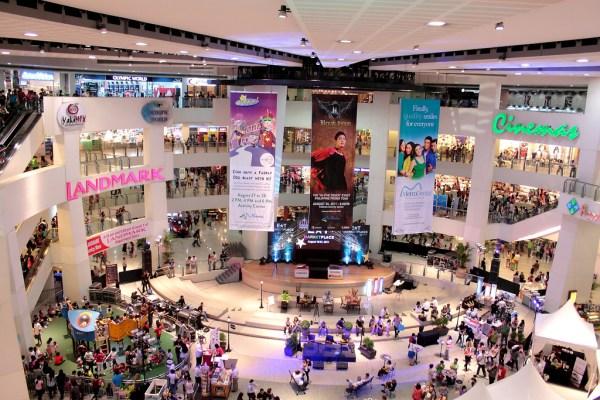 Inside Trinoma Mall