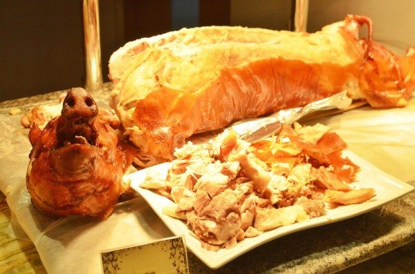 Lechon at the Buffet Table