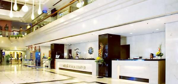 Melia KL Hotel Lobby