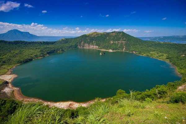 The Mouth of Taal Volcano by Deck Chua