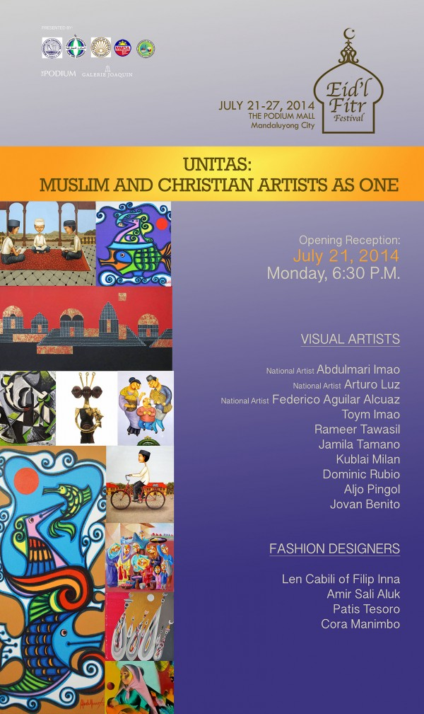 Unitas - Muslim and Christian Artists in One Exhibit
