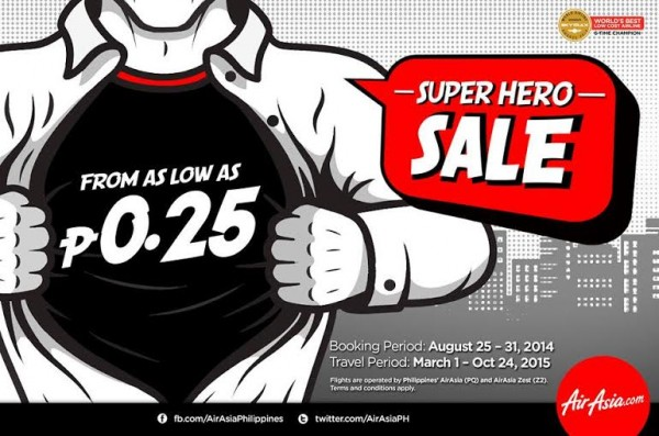 AirAsia Super Hero Sale