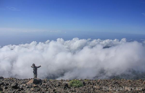 On top of Mt. Bulusan